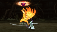 Grande Bola Rasenshuriken da Besta com Cauda (Naruto - Game)