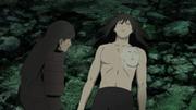 Hashirama em seus momentos finais com Madara