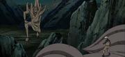 La batalla de Naruto y Tobi