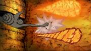Madara Uchiha, Obito y el Diez Colas atacan a la Alianza