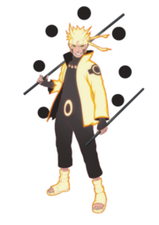 Rikudō Sennin Mōdo (Naruto Uzumaki - Render)