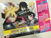 Calendario del Naruto Storm 4 Road to boruto