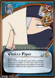 Papel de Chakra BP