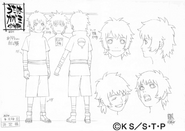 Arte Pierrot - Kagami Uchiha criança