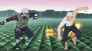 Kakashi and Obito Together