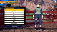 Naruto To Boruto Shinobi Striker - Personalización de personaje