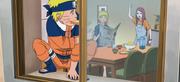 Naruto se marcha hacia su misión