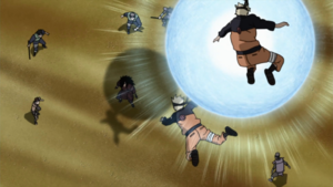 Super Gran Bola Rasengan Anime