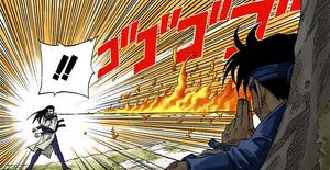 Elemento Fuego Jutsu Fuego de Dragón