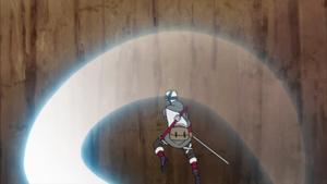 Estilo de la Nube Corte de Luna Creciente Anime