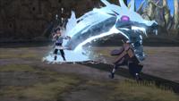 Liberação de Água Técnica do Projétil do Dragão de Água (Gengetsu - Game)