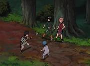 Sakura y Lee son interceptados por los huérfanos