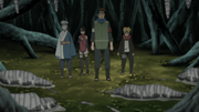 Team 7 Investigating Ruins