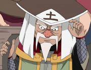 Ōnoki com Chapéu de Tsuchikage