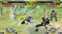 Dança Selvagem do Fluxo de Fogo (Sasuke - Game)