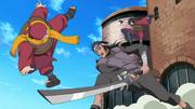 Ganryu attaque