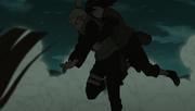 Ino e Hinata chegam ao campo de batalha
