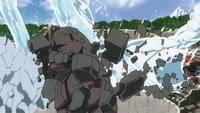 Liberação de Água - Técnica do Projétil do Dragão de Água (Momoshiki - Anime)