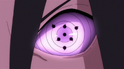 Rinnegan de Sasuke Anime