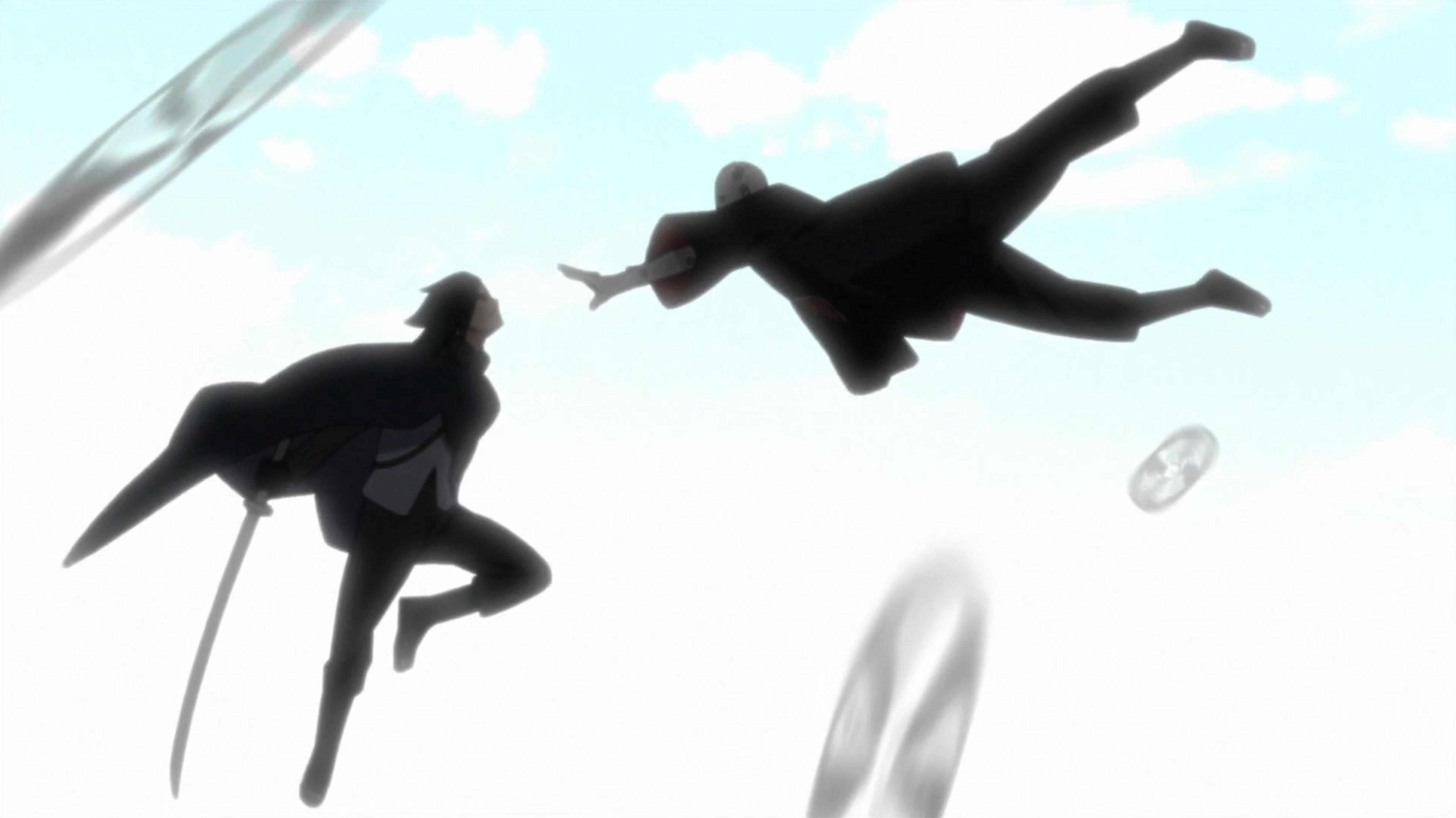 Uchiha Shin a Sasuke