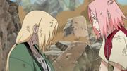 Tsunade e Sakura