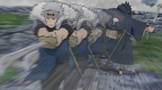 Cuchillada del Dios Trueno Volador Anime