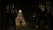Hiruzen découvre le secret d'Orochimaru