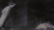Kisame asesina a Fuguki y toma a Samehada