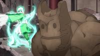 Liberação de Terra - Técnica do Golem (Kū - Anime)