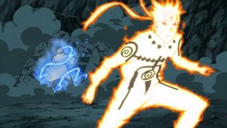 Naruto bypasses A