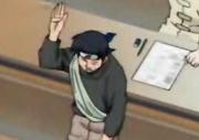 Komugi retirándose de los exámenes