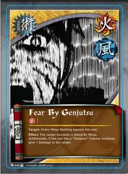 Miedo por el Genjutsu BP