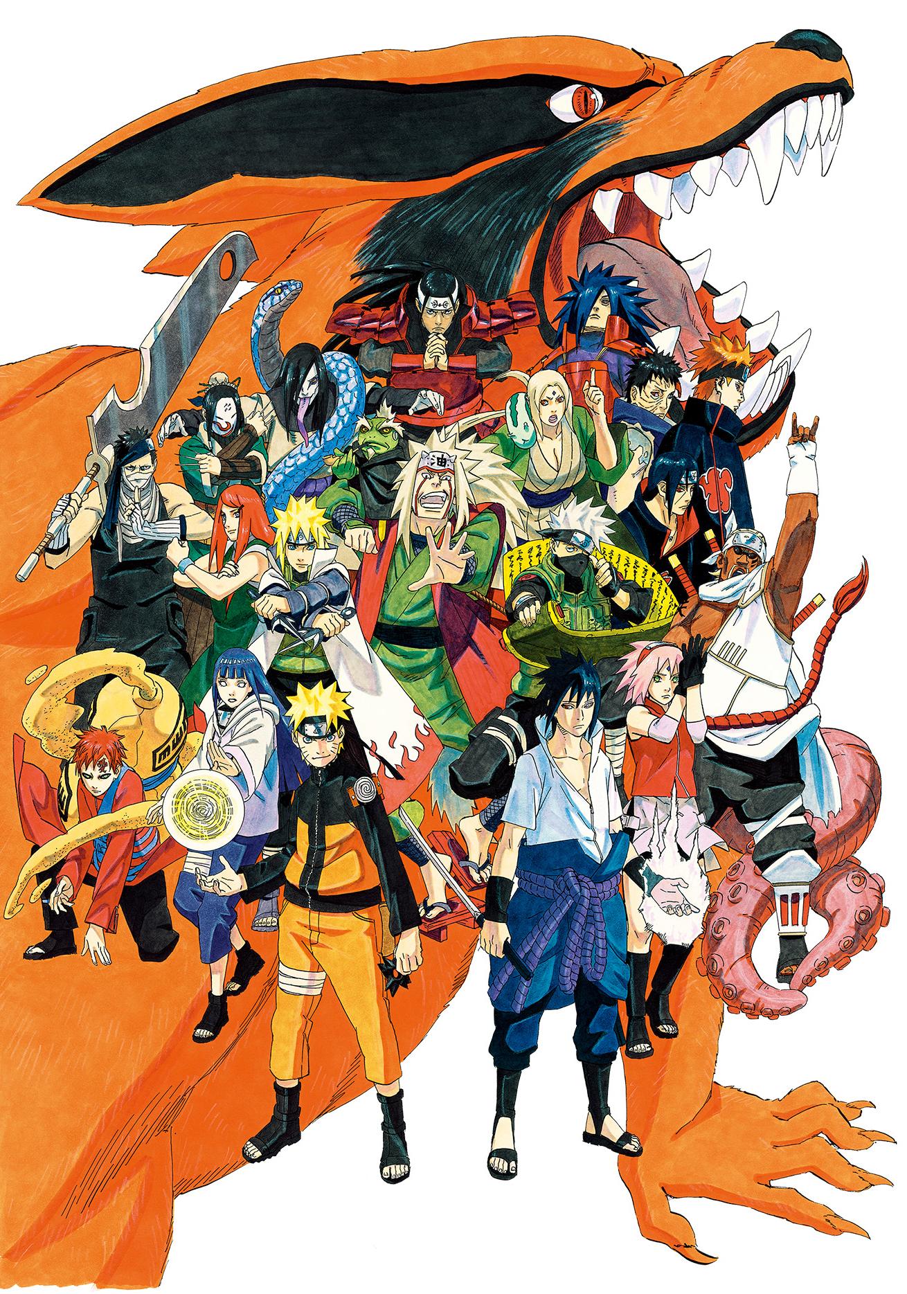 The character of the anime series Naruto Anko Mitarashi 3