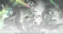 Princess Fuun vs Armored Warriors