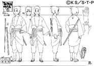 Arte Pierrot - Sasuke Hebi