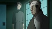 Danzō e Sasuke