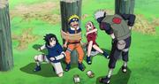 Kakashi aprueba al equipo 7