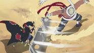 Killer B vs Sasuke