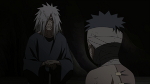 Madara saves Obito