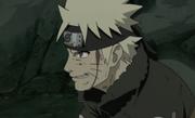 Naruto demostrando su inquebrantable camino ninja