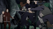 Shiseru lutando contra Edos