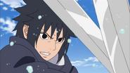 Izuna confrontando