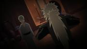 Jiraiya tenta capturar Orochimaru