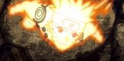 Naruto se libera del Chibaku Tensei con una nueva transformación