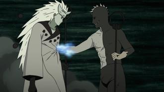 Obito Stealing Chakra