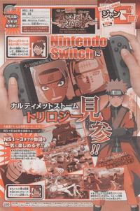 Scan Naruto Storm Trilogy para Switch
