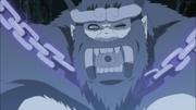 Son Gokū rindo de forma zombeteira