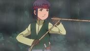 Tanashi com uma corda