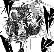 B ataca Sasuke (Capítulo 411)