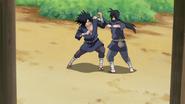 Madara treinando com Izuna